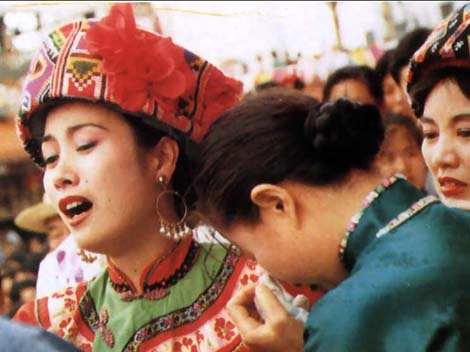 Strange Wedding Customs - The Crying Ritual of the Tujia People | Oddity Central - Collecting Oddities
