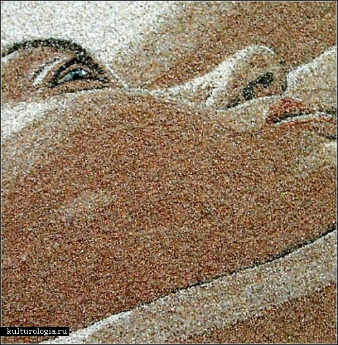 Ukrainian Artist Creates Incredibly Detailed Artworks from Sand and Seashells | Oddity Central - Collecting Oddities