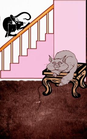 boo n spook stairs